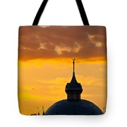 Tampa Bay Hotel Dome At Sundown Tote Bag
