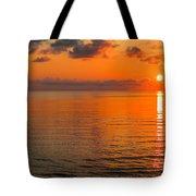 Tangerine Dawn Tote Bag