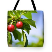Tart Cherries Tote Bag