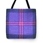 Tartan Pattern Tote Bag