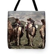 Working Camels Tote Bag