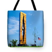 Tear Drop Of Grief Tote Bag by Nick Zelinsky