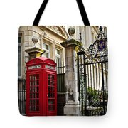 Telephone Box In London Tote Bag