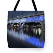 Tempe Light Rail Bridge Tote Bag
