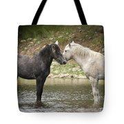 Tender Moments - Wild Horses  Tote Bag