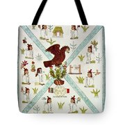 Tenochtitlan (mexico City) With Aztec Tote Bag