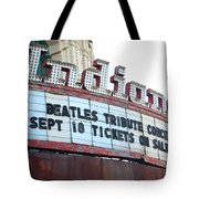 Terre Haute - Indiana Theater Tote Bag