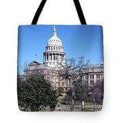 Texas State Capitol Tote Bag