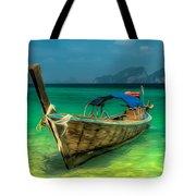 Thai Longboat Tote Bag