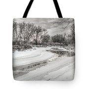 Thames River  Tote Bag