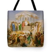 The Age Of Augustus The Birth Of Christ Tote Bag