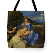 The Aldobrandini Madonna Tote Bag