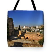 The Alhambra Palace Cubo Tower Tote Bag