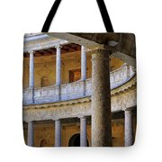 The Alhambra Palace Of Carlos V Tote Bag by Guido Montanes Castillo
