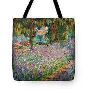 The Artists Garden At Giverny Tote Bag