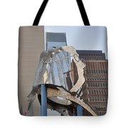 The Ben Franklin Sculpture Tote Bag