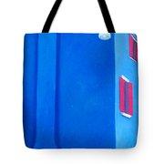 The Blue House Burano Tote Bag