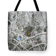 The Blue Stallion Tote Bag