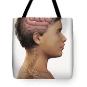 The Brain Child Tote Bag