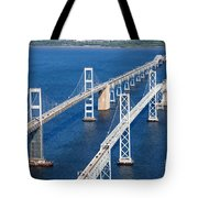 The Chesapeake Bay Bridge Tote Bag