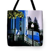The Church Steps Tote Bag