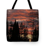 The Close Of Day Tote Bag