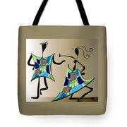 The Dancers Tote Bag