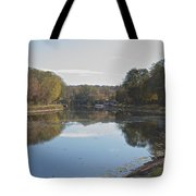 The Erie Canal  Tote Bag