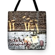 The Face On The Wall Tote Bag