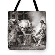 The Farrier, From Etudes De Cheveaux Tote Bag
