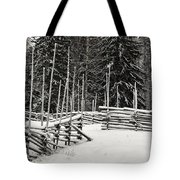 The Fence Of Kovero Tote Bag