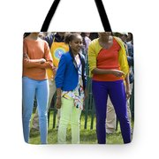 The First Lady And Daughters Tote Bag