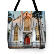 The French Huguenot Church Tote Bag