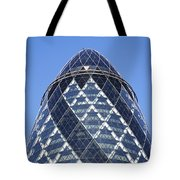 The Gherkin Building In London England Tote Bag