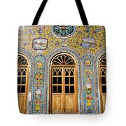 The Golestan Palace In Tehran Iran Tote Bag