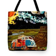 The Gorge Wildhorses Tote Bag