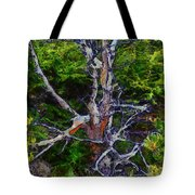 The Graceful Dead Detail Tote Bag