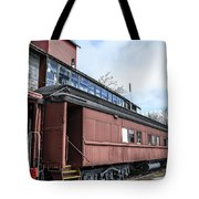 The Grand Trunk Western Depot  Tote Bag