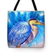 The Great Blue Heron Tote Bag