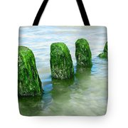 The Green Jetty Tote Bag