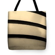 The Guggenheim In Sepia Tote Bag