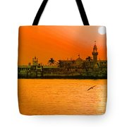 The Haji Ali Dargah Tote Bag