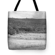 The Hay Field Tote Bag