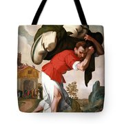 The Healing Of The Paralytic Tote Bag