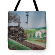 The Hillsboro Local Passing My Birthplace At Sardinia Tote Bag