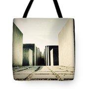 The Holocaust Memorial Berlin Germany Tote Bag