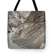 The Hunza River In Pakistan Tote Bag