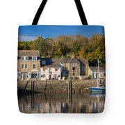 The Inner Harbour At Padstow Tote Bag