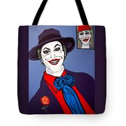 The Joker And Mom Tote Bag