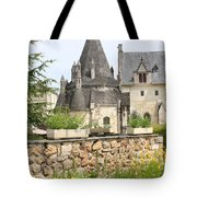 The Kitchenbuilding Of Abbey Fontevraud Tote Bag